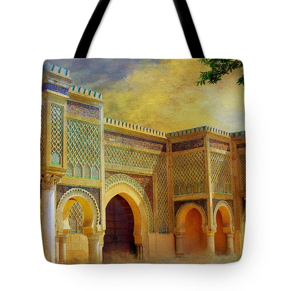 Bab Mansur Tote Bag by Catf