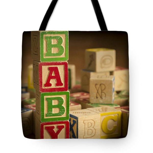 Baby Blocks Tote Bag by Edward Fielding