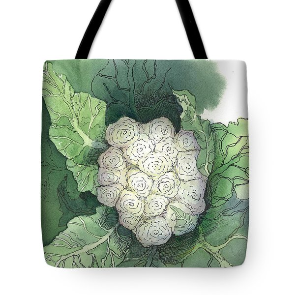 Baby Cauliflower Tote Bag by Maria Hunt