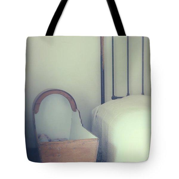 Baby Crib Tote Bag by Joana Kruse