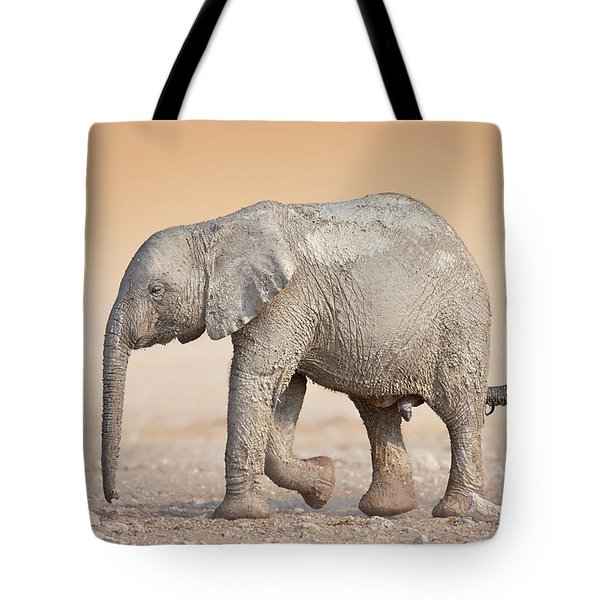 Baby elephant  Tote Bag by Johan Swanepoel