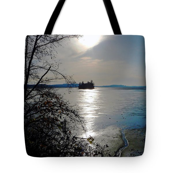 Baby Island Tote Bag by Pamela Patch