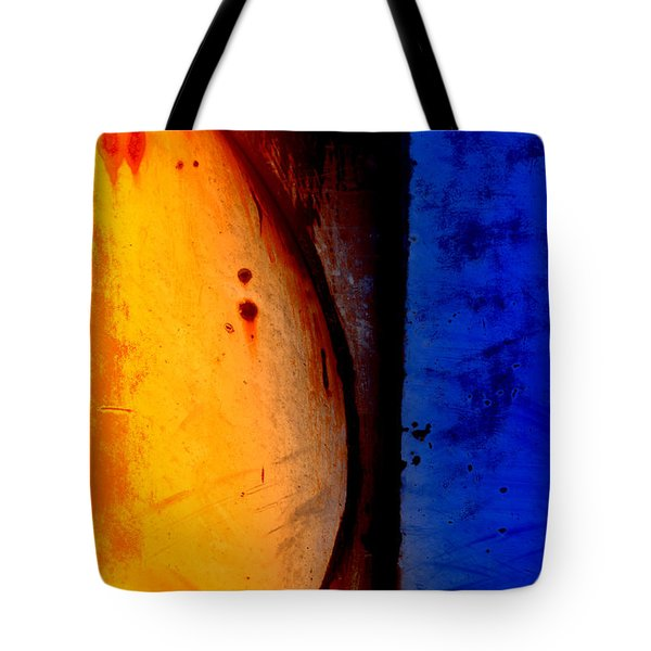 Back Against the Wall Tote Bag by Fran Riley