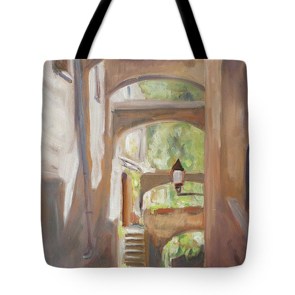 Back Alley Tote Bag by Marco Busoni