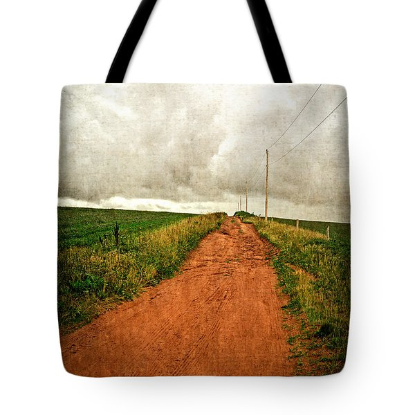 Back Country Road PEI Tote Bag by Edward Fielding