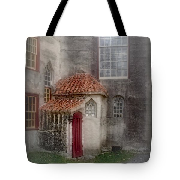 Back Door To The Castle Tote Bag by Susan Candelario