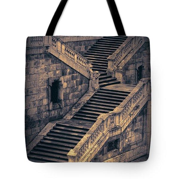 Back Entrance Redux Tote Bag by Joan Carroll