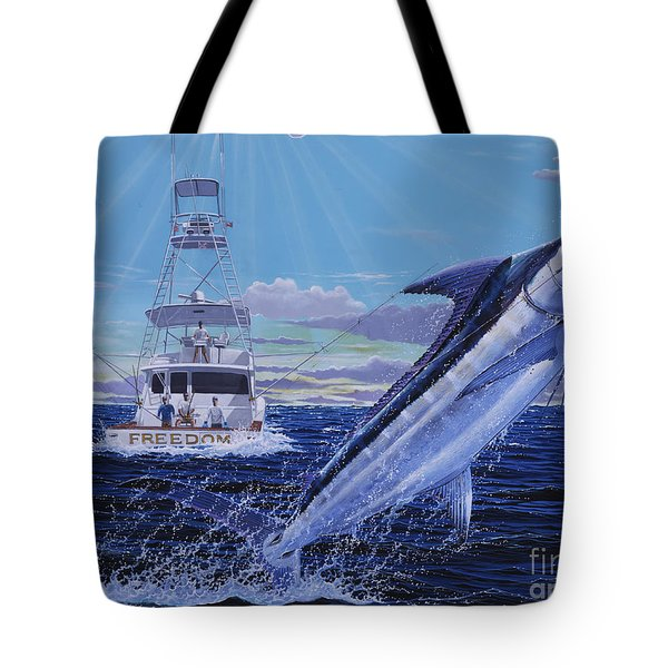 Back Her Down Off00126 Tote Bag by Carey Chen