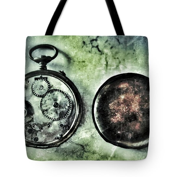 Back In Time Tote Bag by Marianna Mills