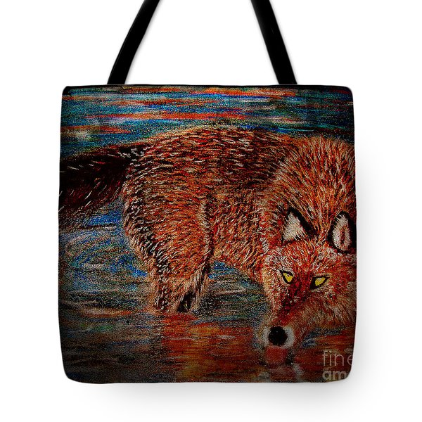 Back Off Tote Bag by M and L Creations
