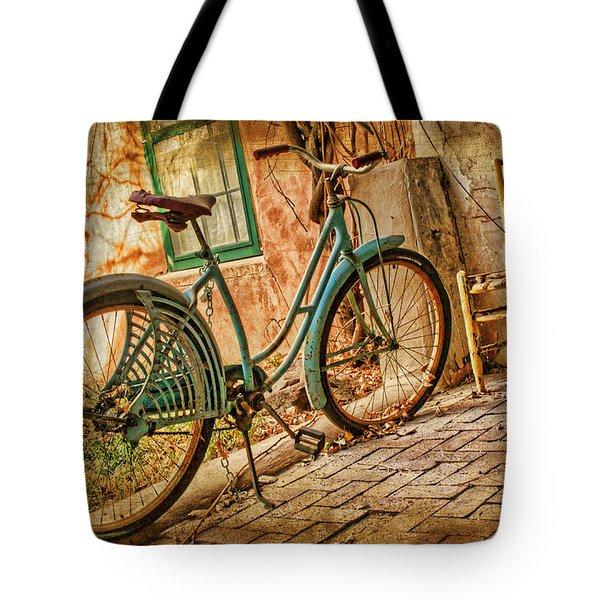 Back Patio Tote Bag by Nikolyn McDonald
