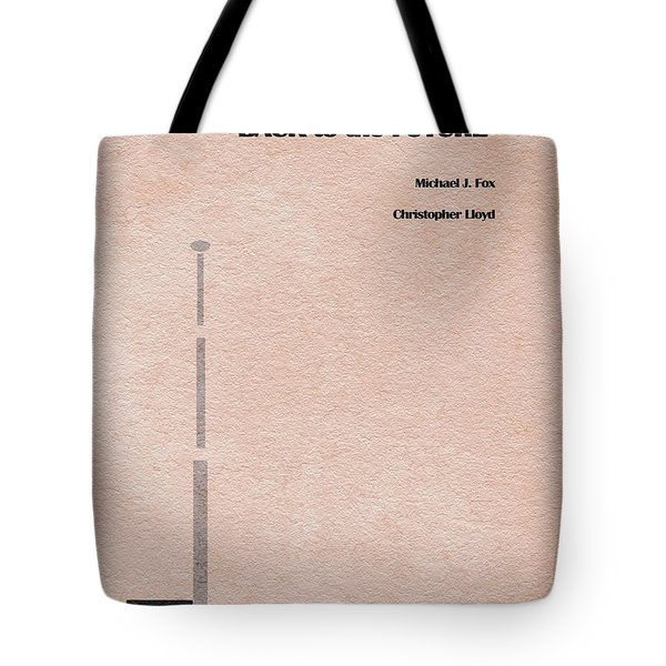 Back to the Future Tote Bag by Ayse Deniz