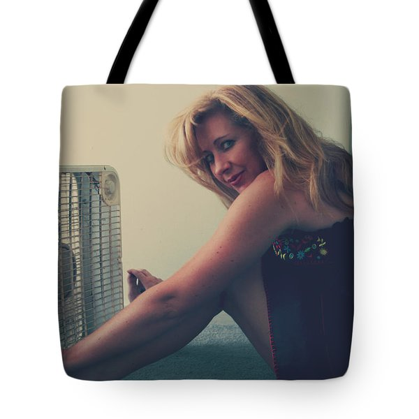 Back When There Were Heatwaves Tote Bag by Laurie Search