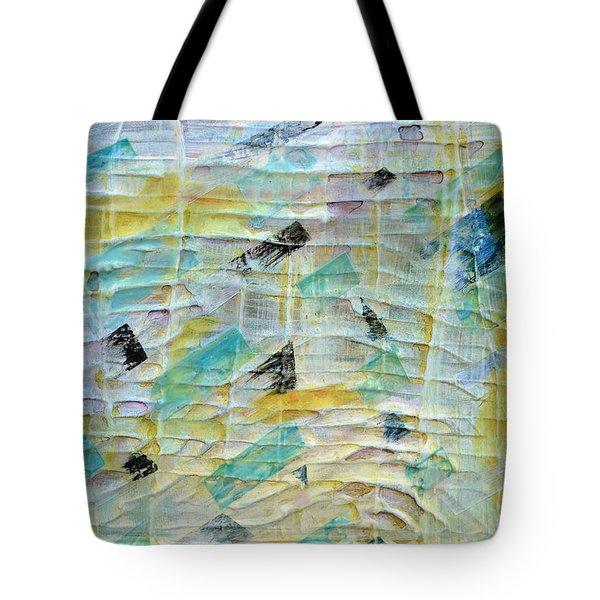 Backbeat Tote Bag by Regina Valluzzi