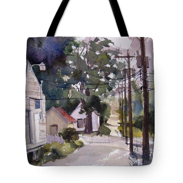 Backstreet Tote Bag by Kris Parins