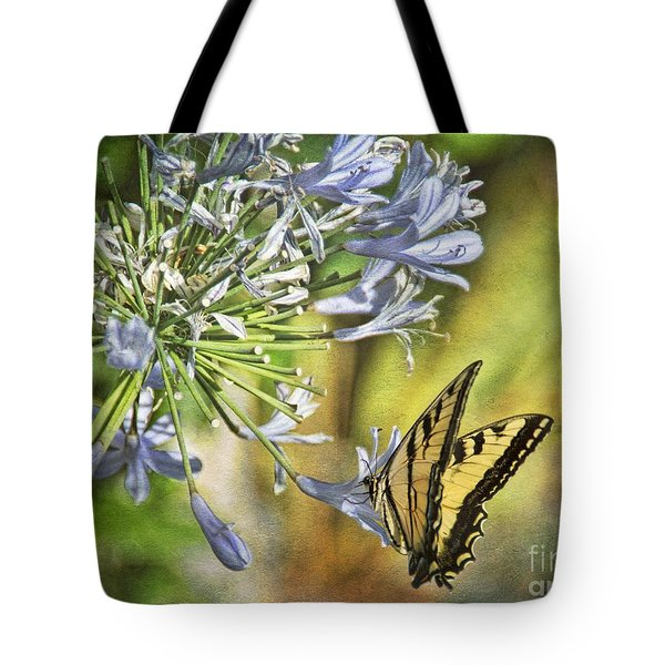 Backyard Nature Tote Bag by Peggy Hughes