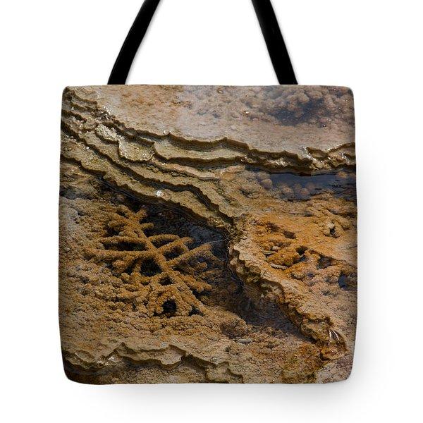 Bacterial Mat 8 Tote Bag by Dan Hartford