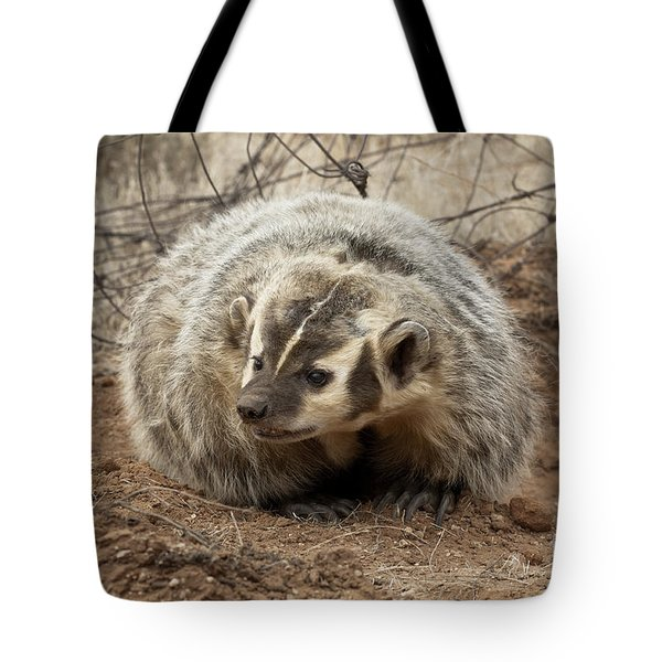 Bad Attitude Tote Bag by Sandra Bronstein