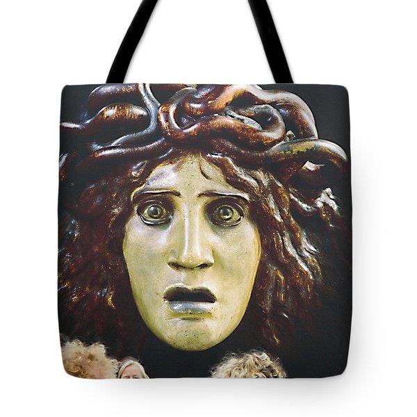 bad hair day at d'orsay Tote Bag by Joe Schofield