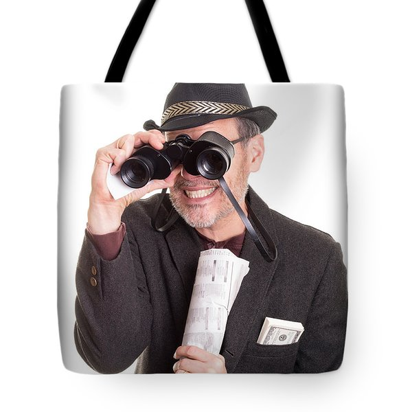 Bad Luck for Me and You Tote Bag by Edward Fielding