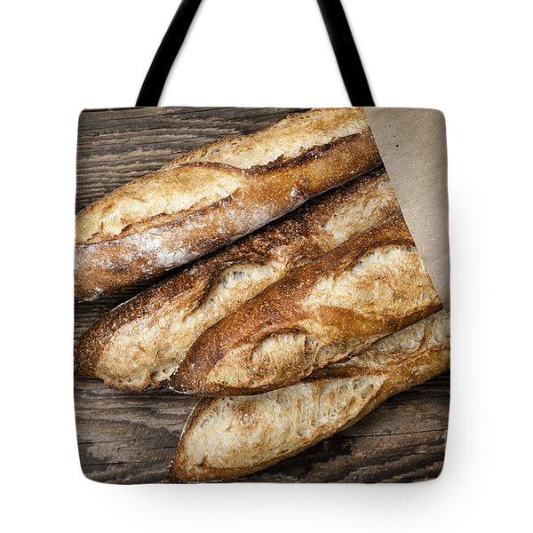 Baguettes Bread Tote Bag by Elena Elisseeva