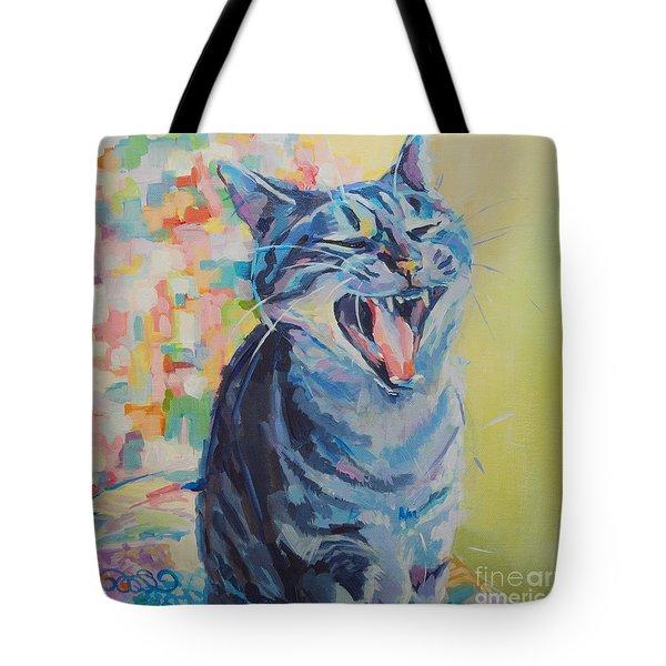 Bah Humbug Tote Bag by Kimberly Santini