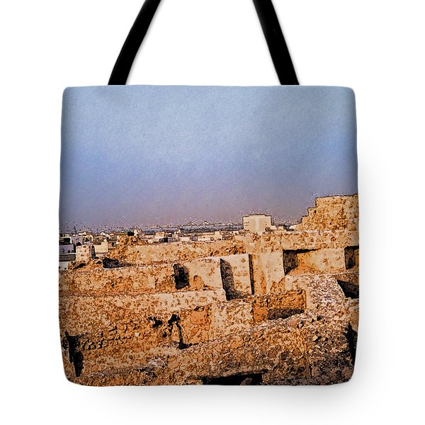 Bahrain Fort  Tote Bag by First Star Art