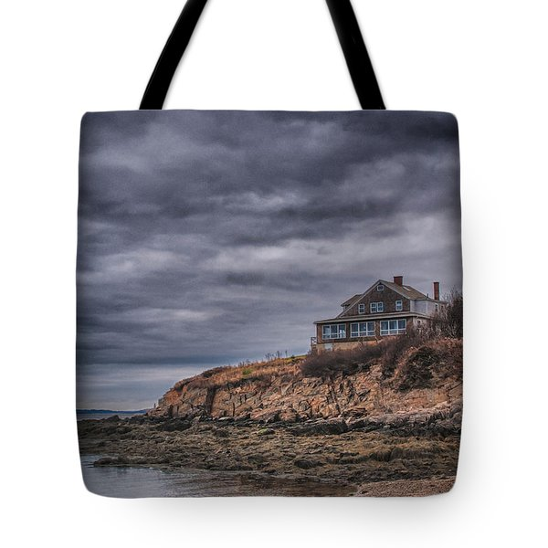 Bailey's Island 14342c Tote Bag by Guy Whiteley