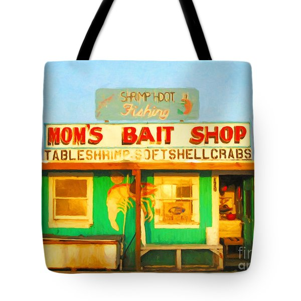 Bait Shop 20130309-1 Tote Bag by Wingsdomain Art and Photography