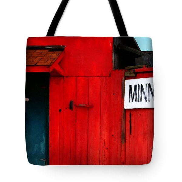 Bait Shop 20130309-2 Tote Bag by Wingsdomain Art and Photography