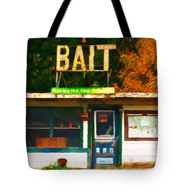 Bait Shop 20130309-3 Tote Bag by Wingsdomain Art and Photography