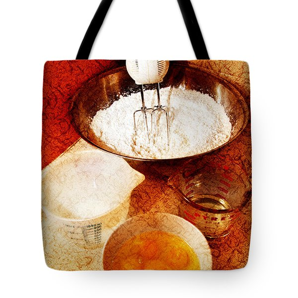 Bake Me A Cake Tote Bag by Andee Design