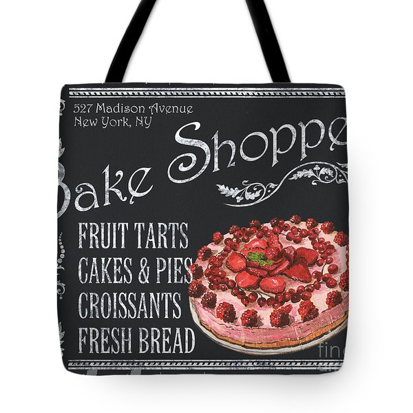 Bake Shoppe Tote Bag by Debbie DeWitt