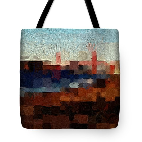 Baker Beach Tote Bag by Linda Woods