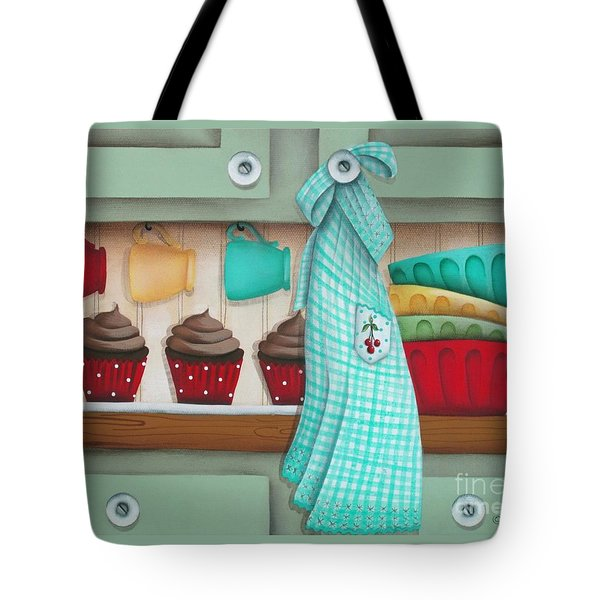 Baking Day Tote Bag by Catherine Holman