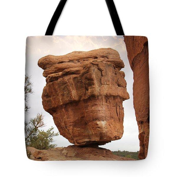 Balanced Rock Tote Bag by Mike McGlothlen