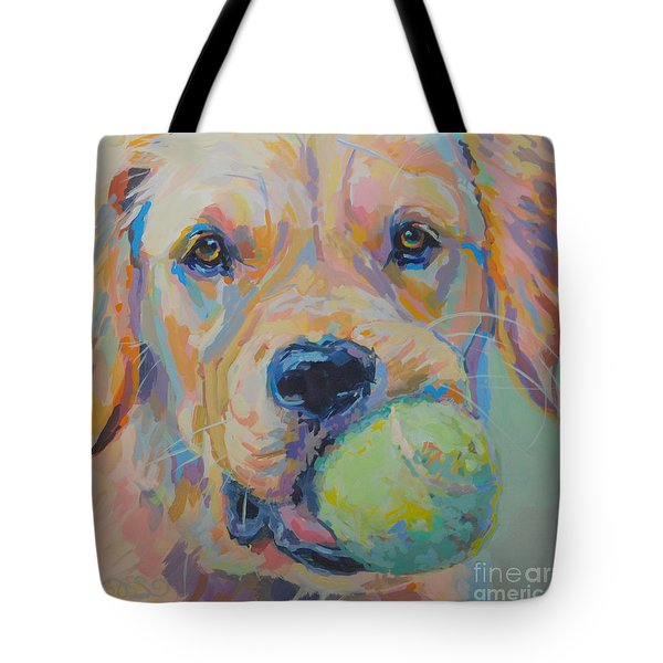 Ball Tote Bag by Kimberly Santini