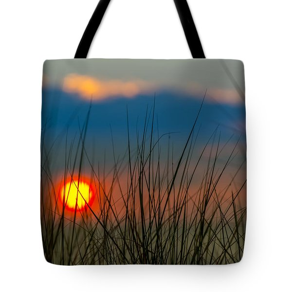 Ball Of Fire Tote Bag by Sebastian Musial