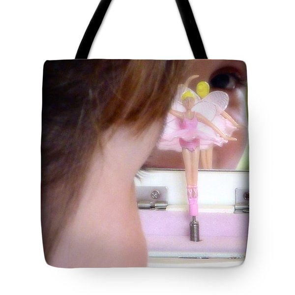 Ballerina Dreams Tote Bag by Susan Garren