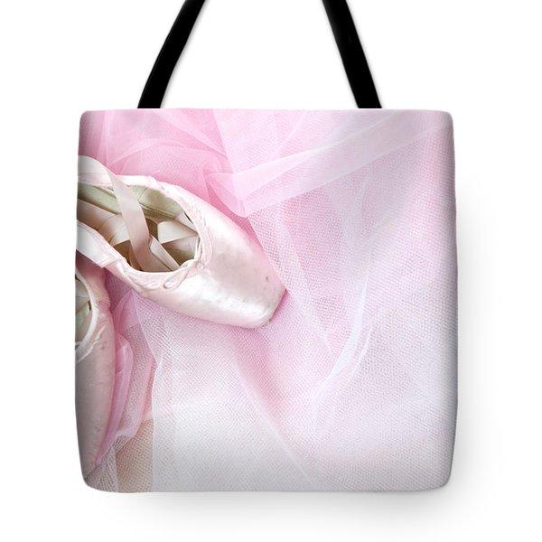 Ballerina Dreams Tote Bag by Zina Zinchik