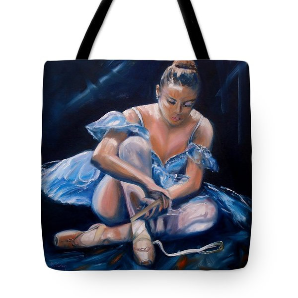 Ballerina II Tote Bag by Donna Tuten
