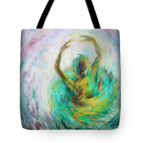 Ballerina Tote Bag by Xueling Zou