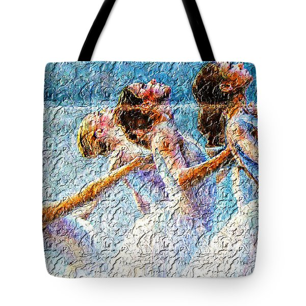 Ballerinas Tote Bag by M and L Creations