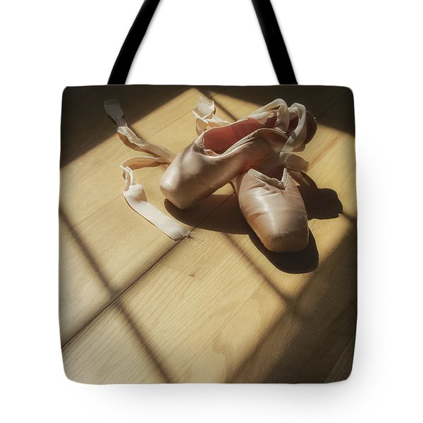 Ballet Slippers Tote Bag by Diane Diederich