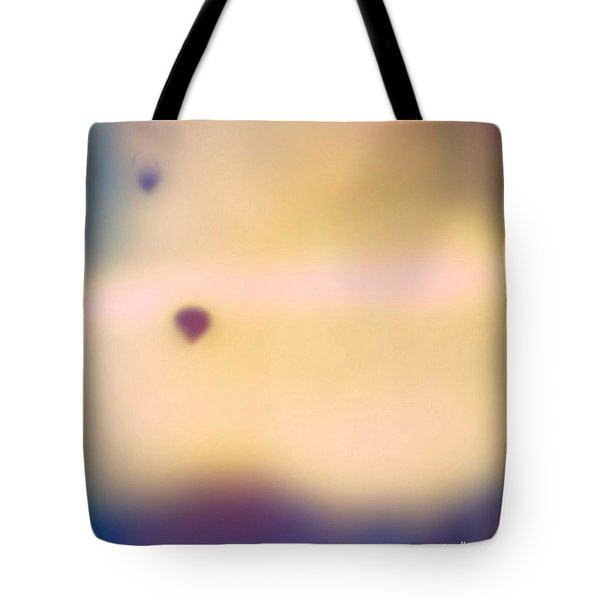 Balloons at Sunrise Tote Bag by Estrella Rodriguez