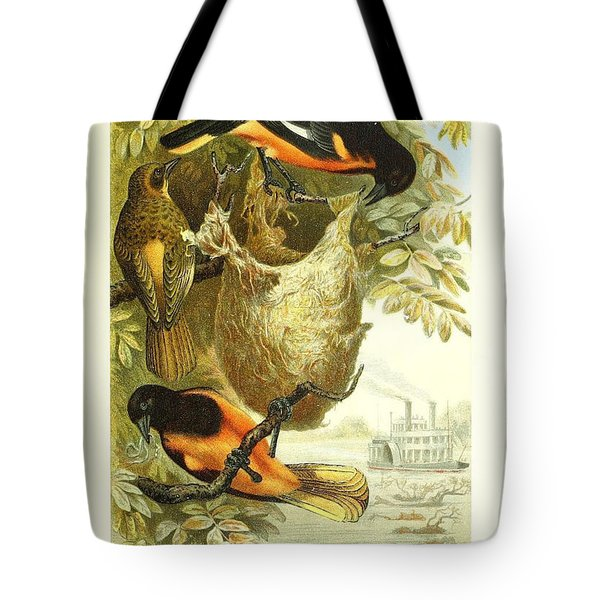 Baltimore Orioles Tote Bag by Unknown Artist