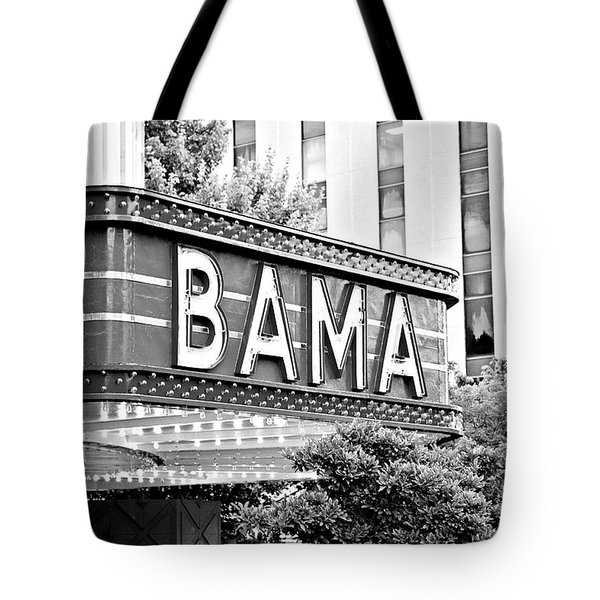 BAMA Tote Bag by Scott Pellegrin