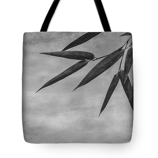 Bamboo - Gray Tote Bag by Hannes Cmarits