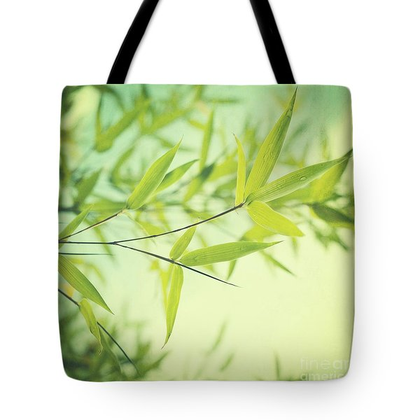 Bamboo In The Sun Tote Bag by Priska Wettstein