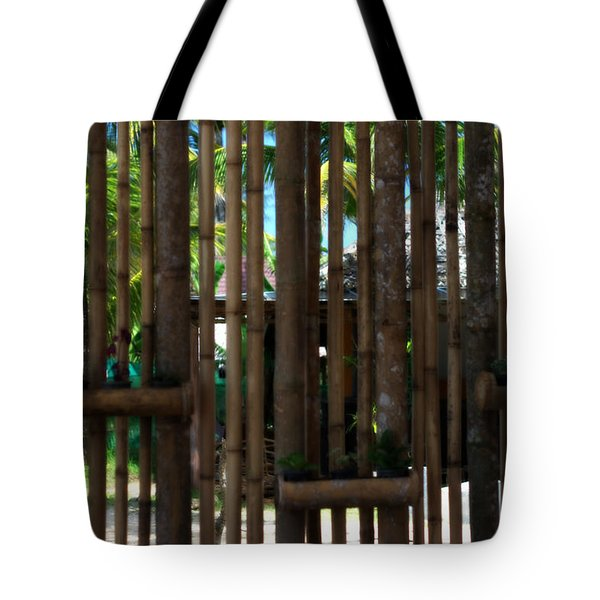 Bamboo View Tote Bag by Nomad Art And  Design